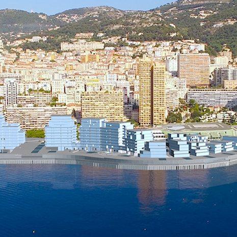 Monaco étend son territoire sur la mer