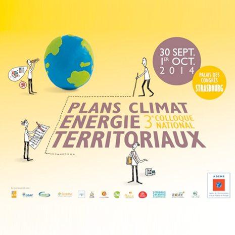 3ème colloque national des Plans climat energie territoriaux