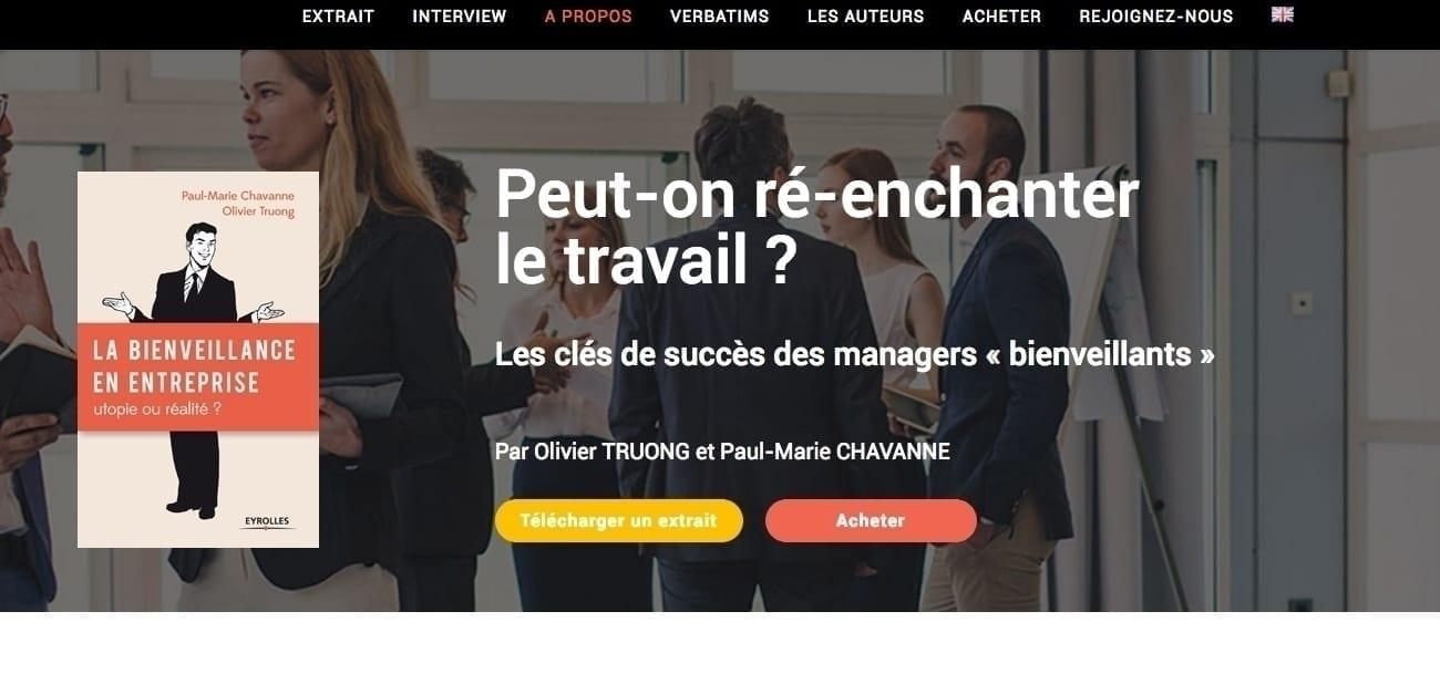 Header and website menu