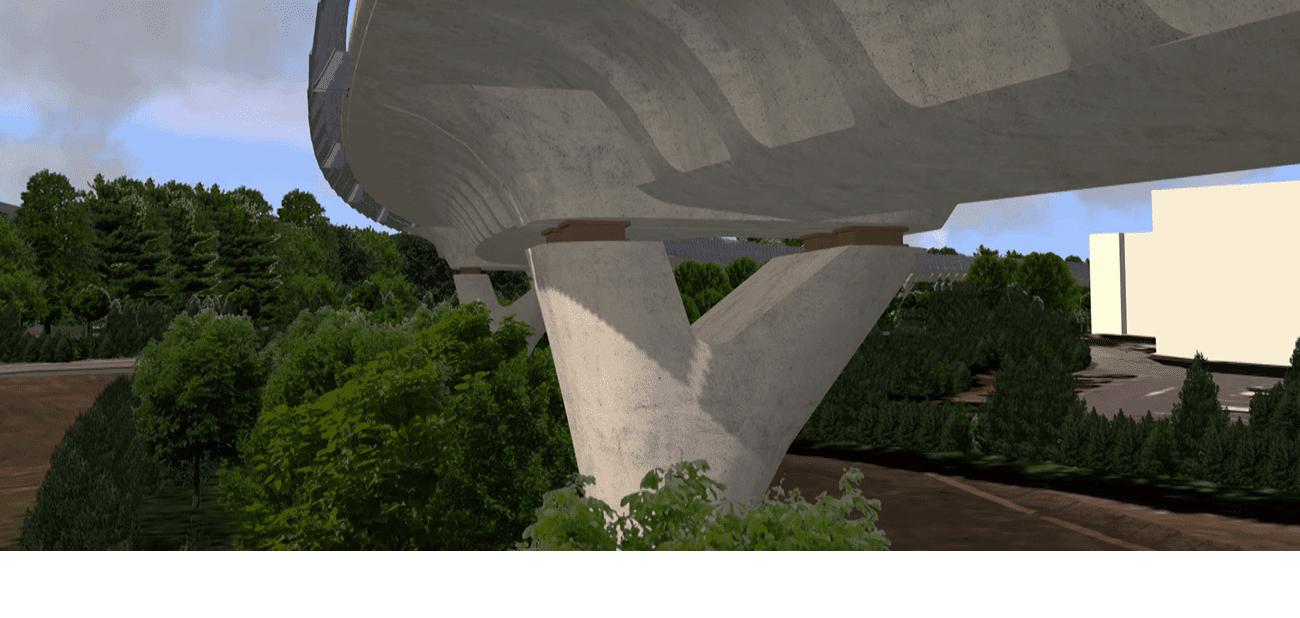 3D rendering of the digital model (Vianova Systems)